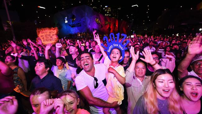 The Victorian Government reminds people to behave on the night. Picture: Rob Leeson/ News Corp Australia.