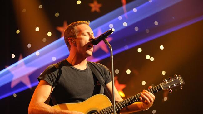 The special television event 50th MAX Sessions: Coldplay premieres exclusively on Foxtel's MAX channel Saturday August 9 at 7.30pm