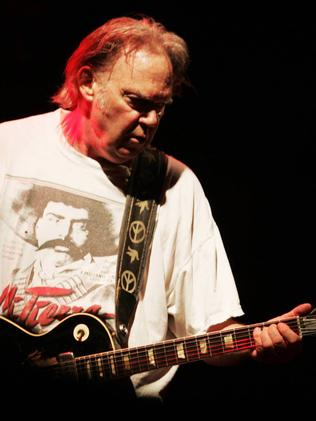 Past it … Neil Young in 2009.