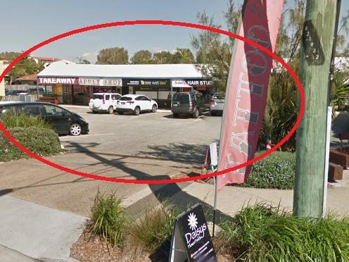 Google Maps image of Intrigues Adult Shop in Queensland.