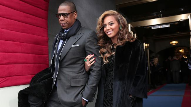 Jay-Z and Beyonce in happier times ... before their marriage reportedly began to implode. Picture: Win McNamee/Getty Images