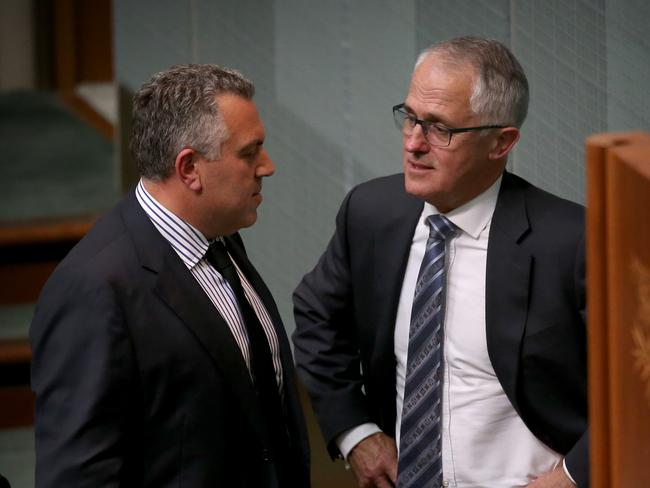 Distrust ... Malcolm Turnbull denies that there is any bad blood between him and Joe Hockey.