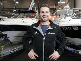 MELB to DO Patrick Dangerfield at Boat Show