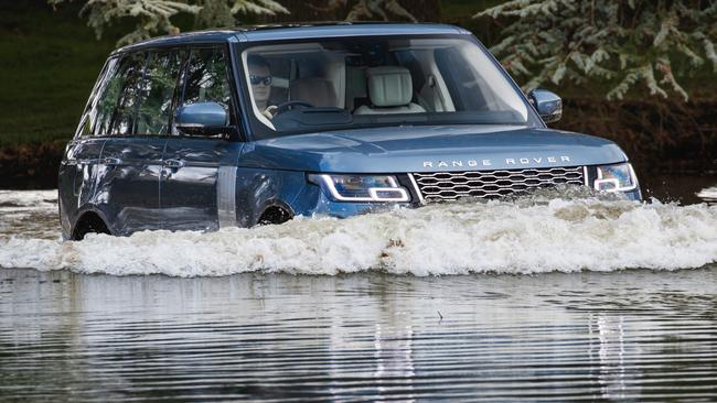 The hybrid is just as capable as other versions of the Rangie. Picture: Supplied.