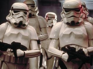 Storm troopers Star Wars. Picture: Supplied