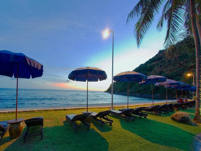 Military clampdown ... Patong Beach in Thailand has not been spared. Picture: Supplied