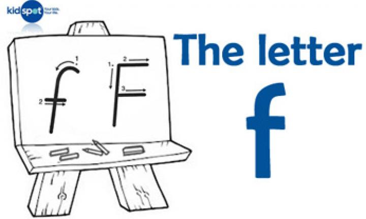 Handwriting: The letter f