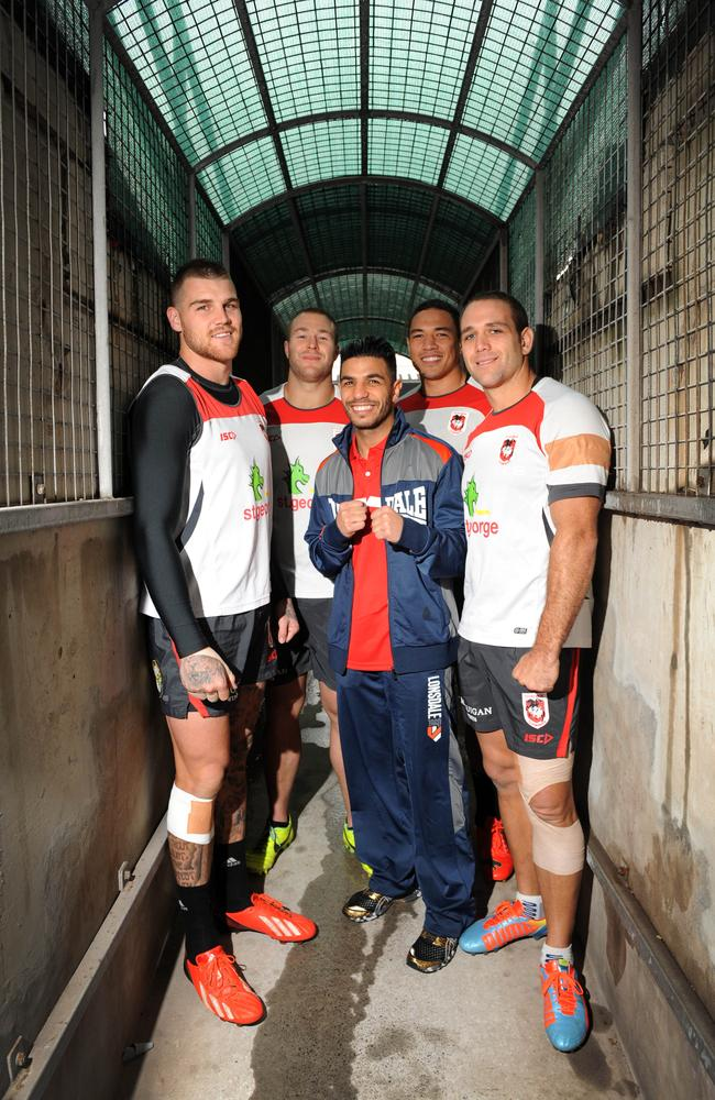 Billy Dib has revealed that he was swayed out of retirement after training with Dragons players.