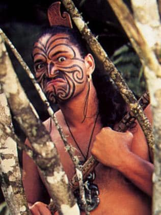 Scared yet? ... Maori tattoos were among the South Pacific styles that impressed Europeans explorers.