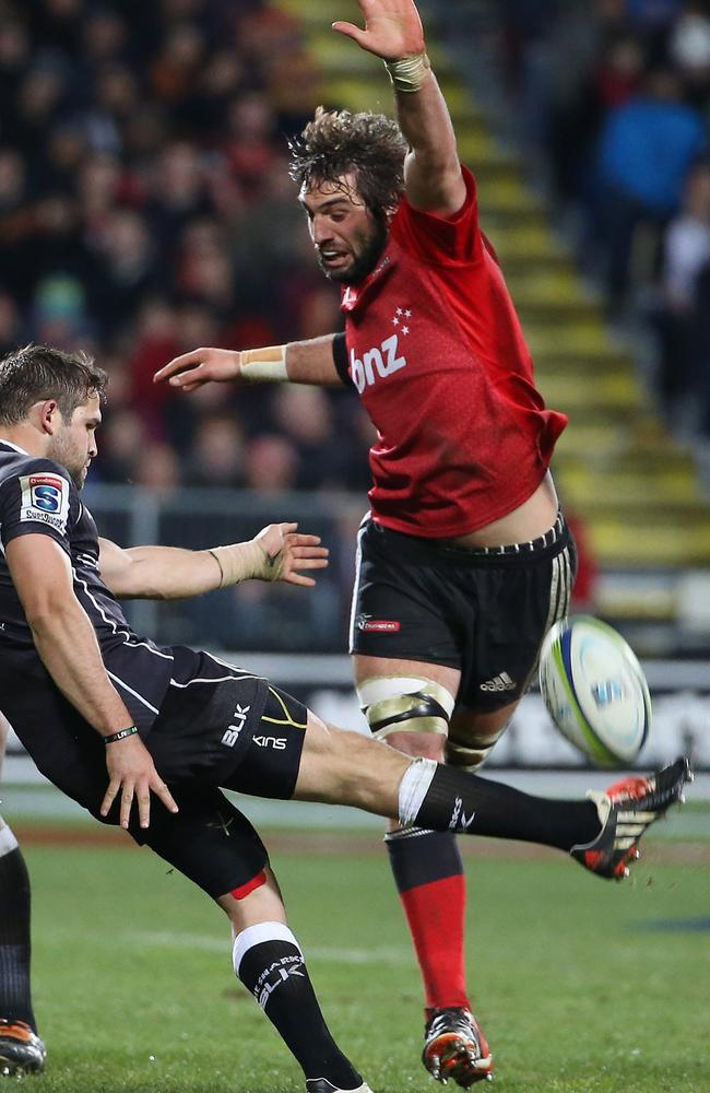 Sam Whitelock was the standout tight forward of the competition.