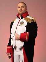 <p>Calombaris dressed as Napoleon before his hit show went to Paris in 2010. Picture: Andrew Tauber</p>