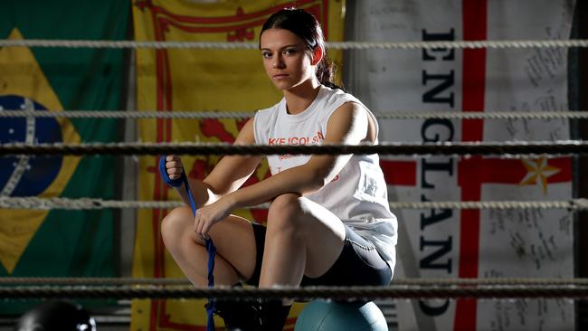 Motor City Bad Beat >> Boxer Skye Nicolson has an angel in her corner as she aims for Rio Olympics | The Courier-Mail