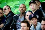 Toby Mitchell among the crowd at AAMI Park. Picture: Hamish Blair