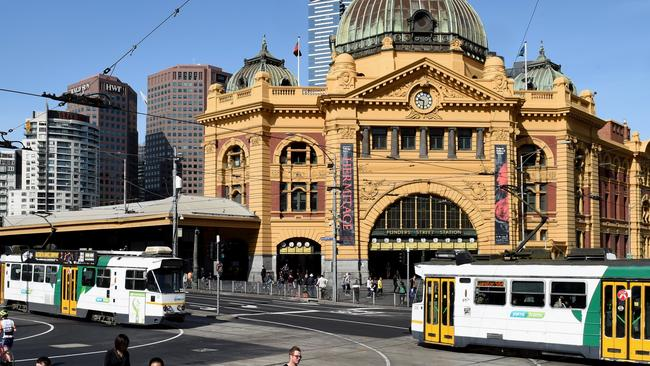 Melbourne was outranked by Auckland and Wellington.