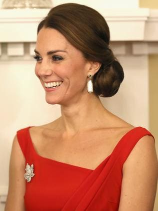 Catherine, Duchess of Cambridge, is part alien hybrid, according to Sydney psychic medium Kerrie-Ann Thornton. Picture: Chris Jackson/Getty Images.
