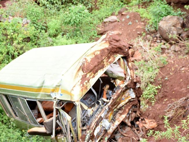A bus crash in northern Tanzania has killed dozens of school children. Picture: AFP.