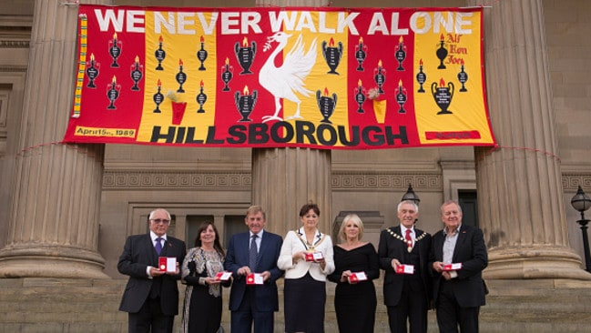Freedom of the City of Liverpool recipients.