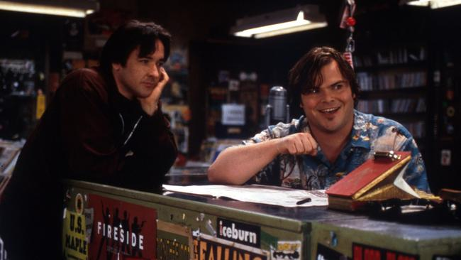 John Cusack and Jack Black in High Fidelity. Picture: Alamy