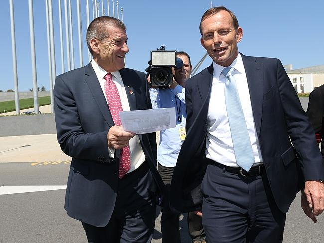 Break your promise PM ... Former Victorian premier Jeff Kennett wants GST broadened to fix the Budget deficit.