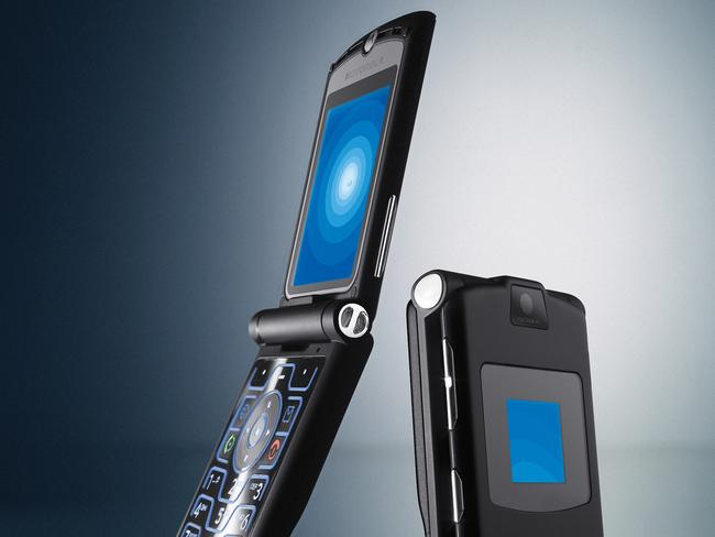 Remember the Motorola RAZR V3? It helped Ms Zhou move from watches to phones in 2003.