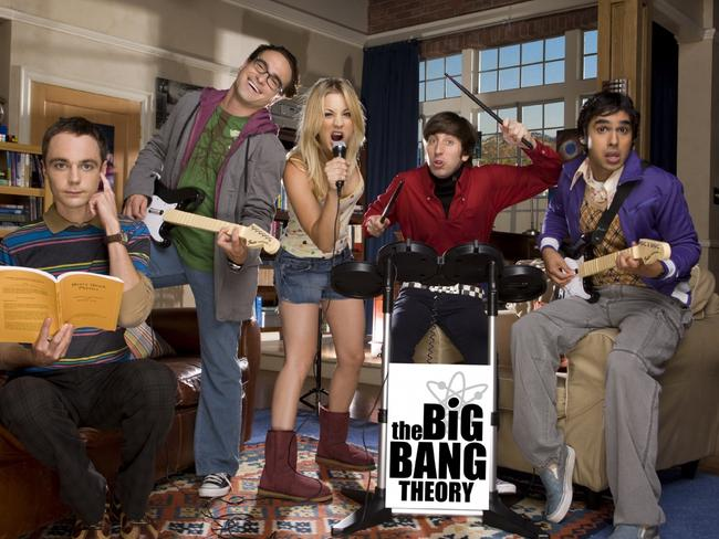 Cast members from The Big Bang Theory.