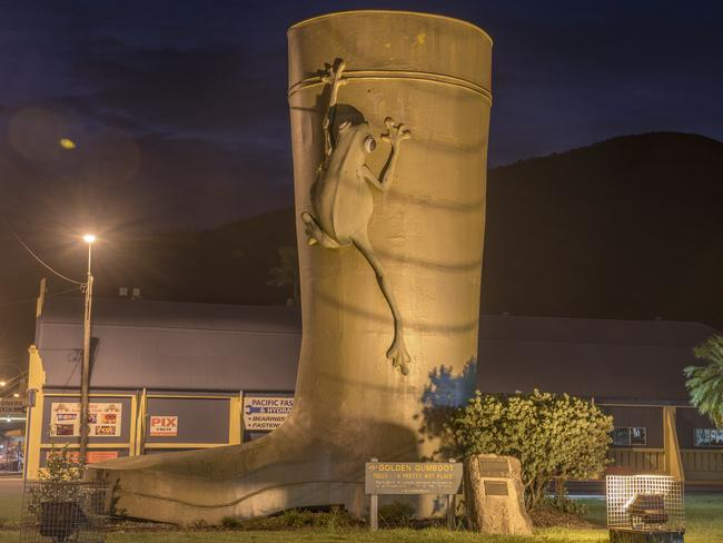 The Golden Gumboot is a Tully treasure. Picture: Chris Holmes