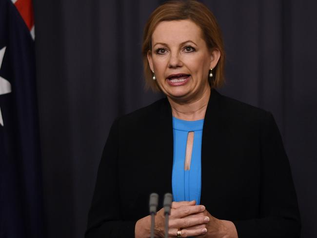Australian Health Minister Sussan Ley will stress that patient privacy is protected when launching My Health Record. Picture: AAP / Lukas Coch
