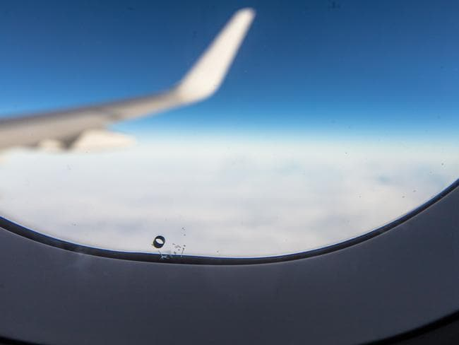 A hole in a window seems like a problem, but on a plane it's vital.