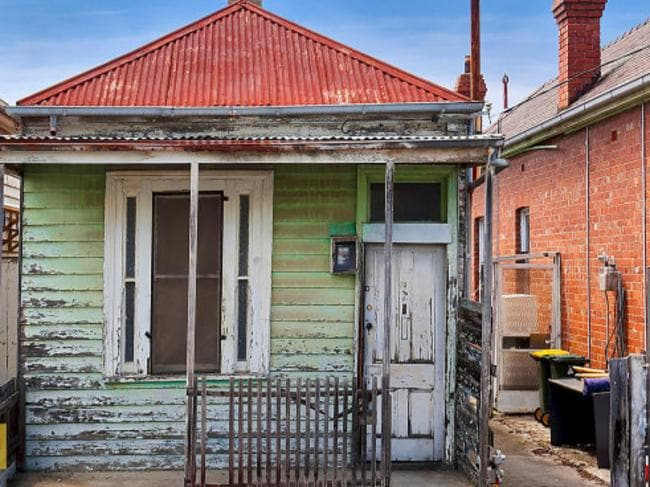 Buy it as is. The Brunswick home needs a lot of love. Picture: realestate.com.au