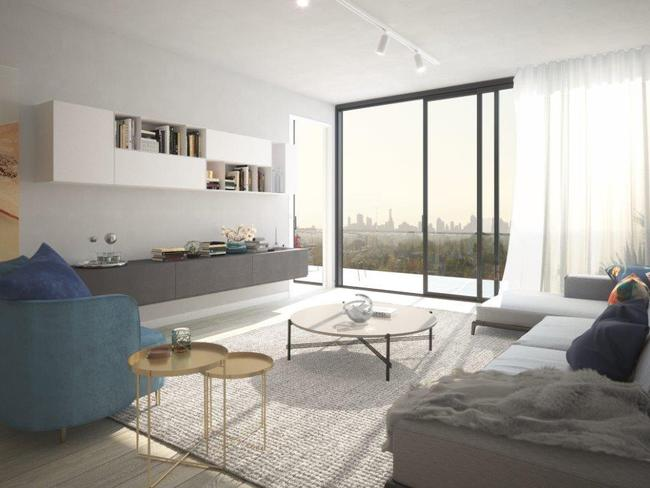 Many one-bedroom apartments are also now coming with impressive fixtures and fittings.