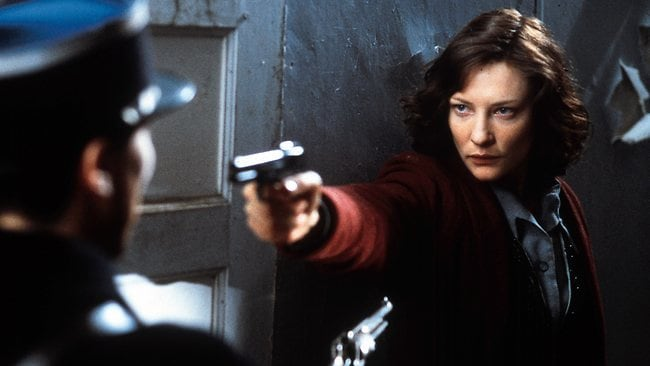 Cate Blanchett in 2002 film Charlotte Gray, which was inspired by Wake's bravery. Picture: Supplied