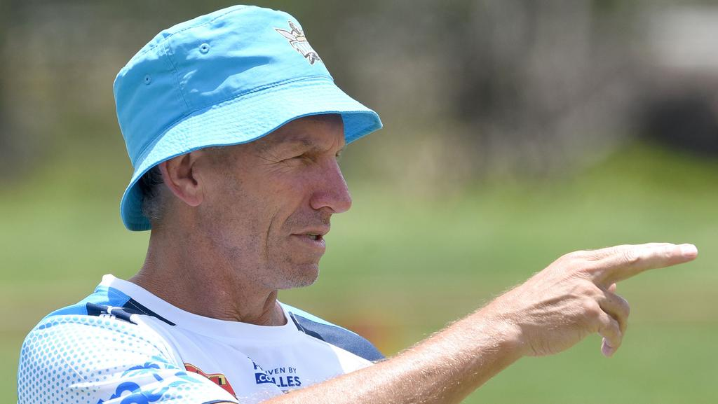 Gold Coast coach Neil Henry at training.