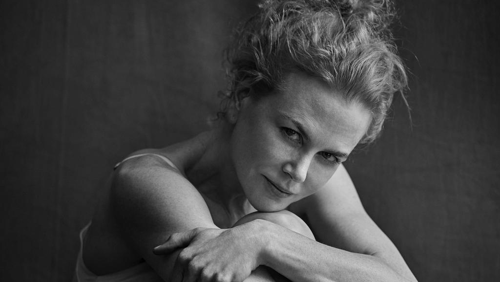 Nicole Kidman has posed without make-up in a stunning new shoot. Picture: Peter Lindbergh/EPA/Pirelli