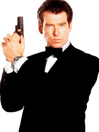 Pierce Brosnan as Bond.