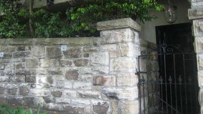 Behind these walls at Cranbrook Rd, Bellevue Hill is a house which sold for $28 million last year. Picture: RP Data