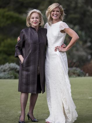 The bride with Ita Buttrose