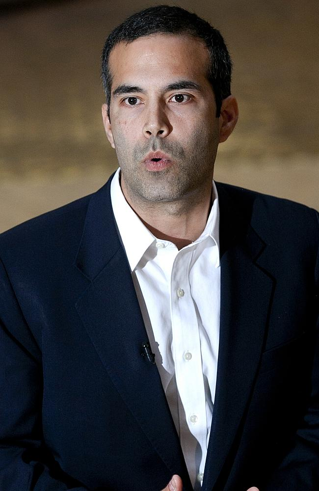 Looks familiar: George P. Bush is on the rise. Picture: AP