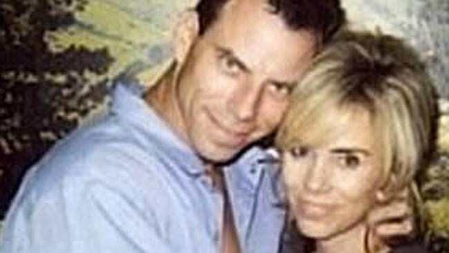 Tammi Saccoman, then 37, married Erik Menendez, then 28, at Folsom State Prison in 1999. Picture: Supplied.