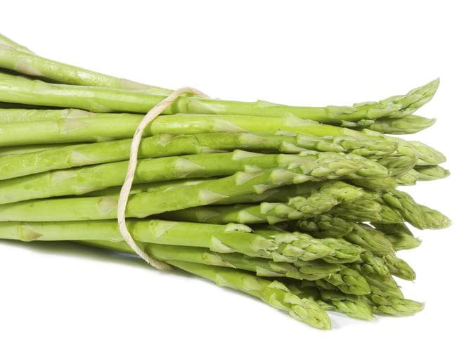 An asparagus bunch.