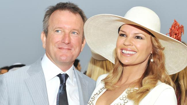 Sonia Kruger with partner Craig McPherson.