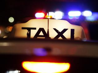 Generic images of taxis through Northbridge and Perth City