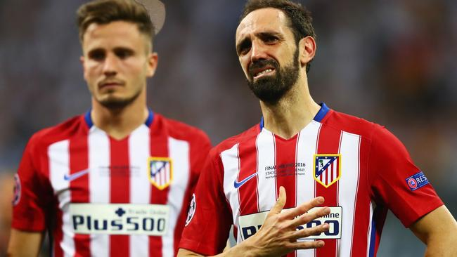 Juanfran apologises to atletico madrid fans misses - Miss sixty madrid ...