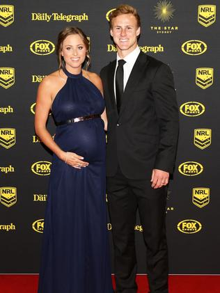 Daly Cherry-Evans and Kellie Cherry-Evans.