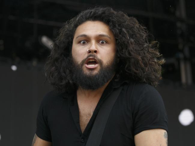 Gang of Youths frontman Dave Leaupepe is nominated for Song of the Year. Picture: Tim Pascoe.