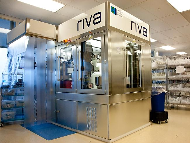 The RIVA machine in pharmaceutical services.