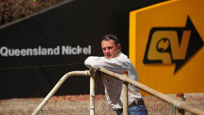 Cowboy Stockham, the union representative for the workers at the troubled Queensland Nickel refinery. Picture: Lyndon Mechielsen