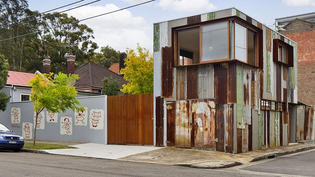 The 'tin shed' at 105 Marriott St, Redfern sold for $2.73 million; a new suburb record. NSW real estate.