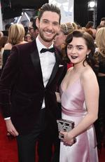 Ben Barnes and Maisie Williams attend The 23rd Annual Screen Actors Guild Awards at The Shrine Auditorium on January 29, 2017 in Los Angeles, California. Picture: Getty