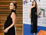 Without even a hint of tired eyes, first-time-mum actress Olivia Wilde welcomed son Otis Alexander Sudeikis on April 20. Wilde looks stunning as she attends the 2014 CFDA fashion awards at Alice Tully Hall, Lincoln Center on June 2, 2014 in New York City. Picture: Getty