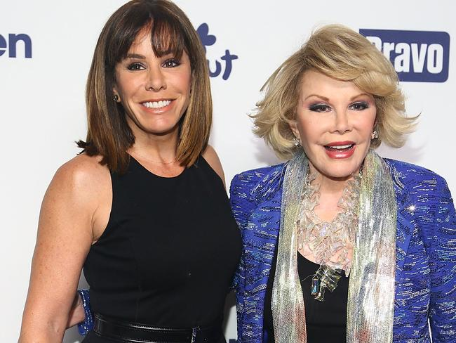 Keep laughing ... daughter Melissa Rivers says her mum, Joan, had a gift to make people laugh.